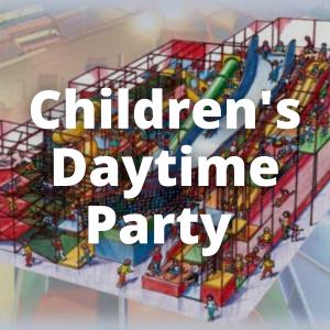 Children's Daytime Parties – 10 to 15 children