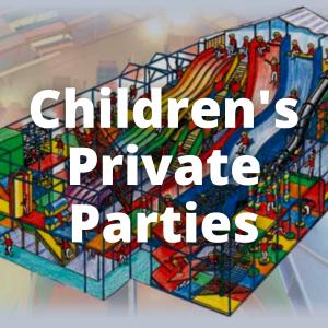 Children's Daytime Parties – 13 to 25 children